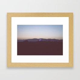 Santa Monica Nights  Framed Art Print