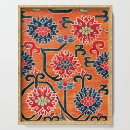 Shigatse South Tibetan Jabuye Rug Print Serving Tray