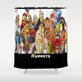 The Muppets Shower Curtain