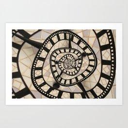 Time? Art Print