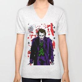 Heath Ledger Joker Unisex V-Neck