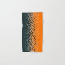 Shredded ORANGE Hand & Bath Towel