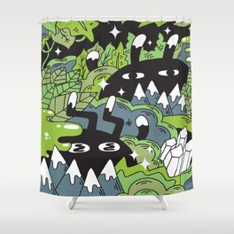 Little Lurkers Shower Curtain