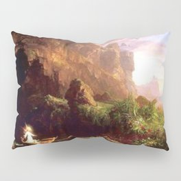Voyage of Life: Childhood No. 1 of 4 by Thomas Cole Pillow Sham