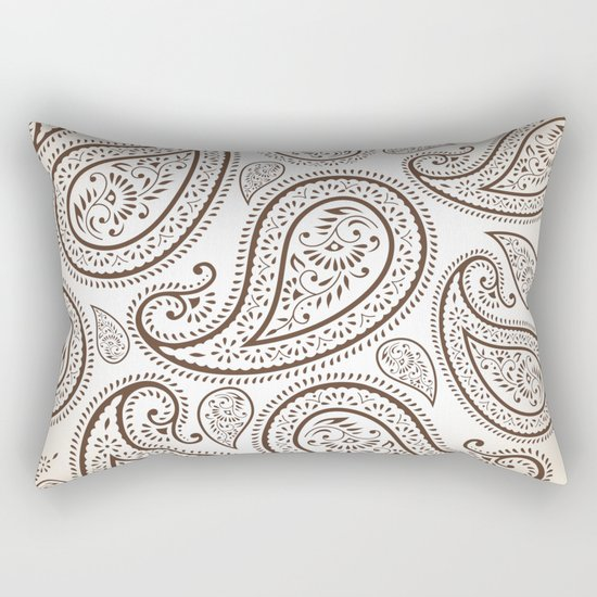 Paisley Threads Rectangular Pillow