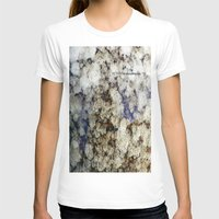 marble T-shirts featuring Marble by Catherine1970