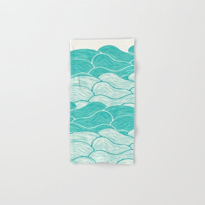 The Calm and Stormy Seas Hand & Bath Towel