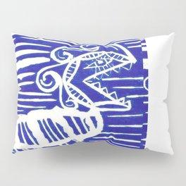 funny monster arghhh Pillow Sham