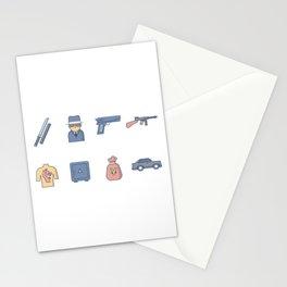 Yakuza Gangster Stationery Cards