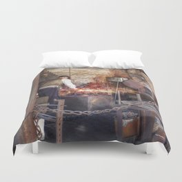 The Forge Duvet Cover