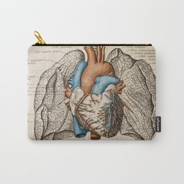 Vintage anatomy illustration Carry-All Pouch