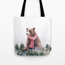 Cold Bear Tote Bag