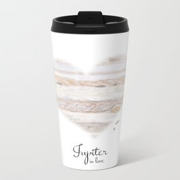 Jupiter in love Metal Travel Mug