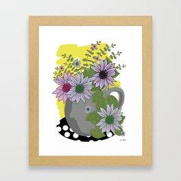 Garden Bouquet Framed Art Print