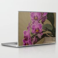 orchid Laptop & iPad Skins featuring Orchid by Steve Purnell