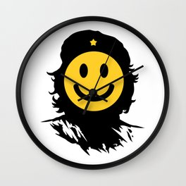 Smiley Che Wall Clock