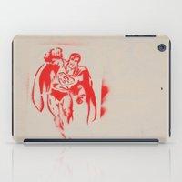 superman iPad Cases featuring Superman by jfaiscquejveux