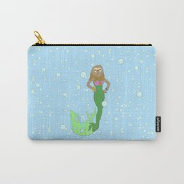 Sloth Mermaid Carry-All Pouch