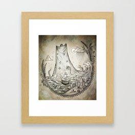 Imaginary Framed Art Print