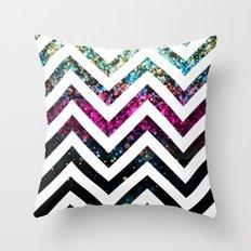 Chevronia XIII Throw Pillow