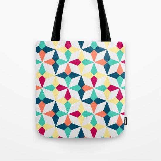 FloralGeometric Tote Bag