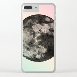 Not My Day, Moon. Clear iPhone Case