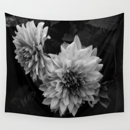 Darkness Blooming Wall Tapestry