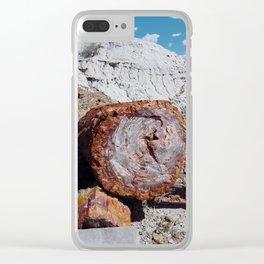 Petrified Desert Clear iPhone Case