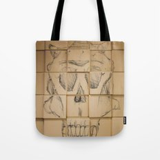 Space in Boxes Tote Bag