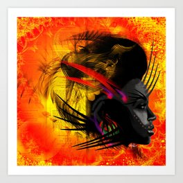 E V I L - C H I L D  Art Print