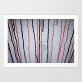 Drain Art Print