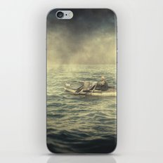 Old man and the sea iPhone & iPod Skin