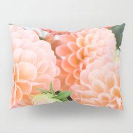 Coral Dahlias 04 Pillow Sham
