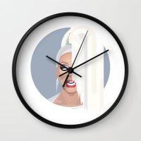 rupaul Wall Clocks featuring Humble Gal by Dezignjk (Justin Kohout)