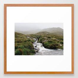 From the Fog Framed Art Print