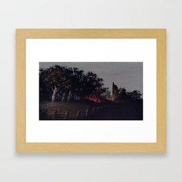 Night Digger Framed Art Print