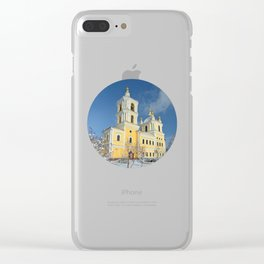 Transfiguration Cathedral Clear iPhone Case