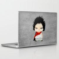 akira Laptop & iPad Skins featuring A Boy - Tetsuo (Akira) by Christophe Chiozzi