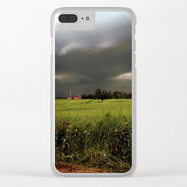 Rolling Thunder, Warm Winds Clear iPhone Case