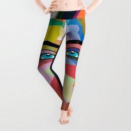 Cara Delevingne - wpap art Leggings