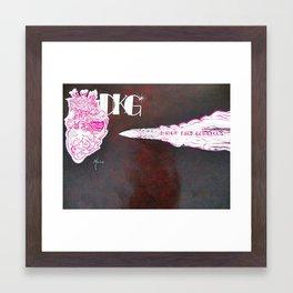 DKG bullet Framed Art Print