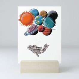 Astronaut  Aeronautics Outer-Space Planets Scientist Galaxy Universe Gifts Mini Art Print