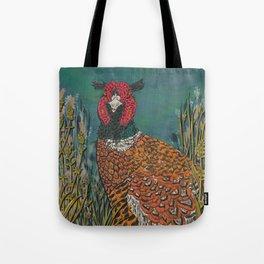Funny Pheasant Tote Bag