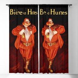 Leonetto Cappiello Biere de Humes Advertising Poster Blackout Curtain