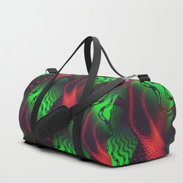 Toxic Neon Duffle Bag