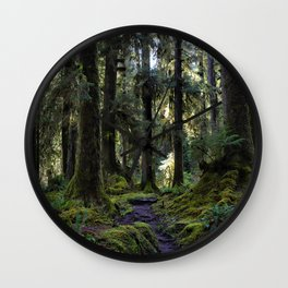 Hoh, Woods Path Wall Clock