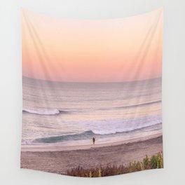 Sunrise Surfer Wall Tapestry