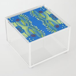 Transitions - Waves of Temporary Tranquility Acrylic Box