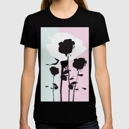 Roses with ink T-shirt