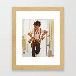Leo Valdez the best of all Framed Art Print